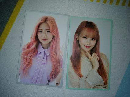 Iz*one chaewon and minju  Eyes On Me Pc