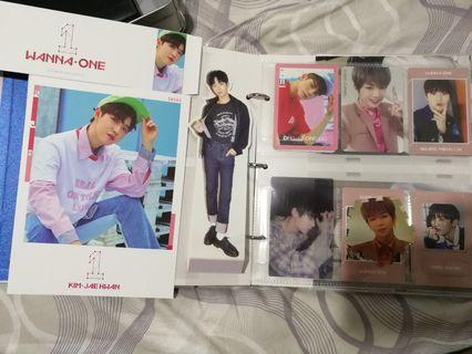 WTT Wanna One Official pc, standee, tazo, magnet, postcard and sleeve cover