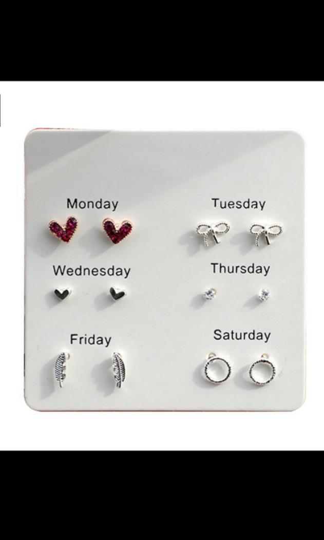 💖出清價💖甜美耳環套組