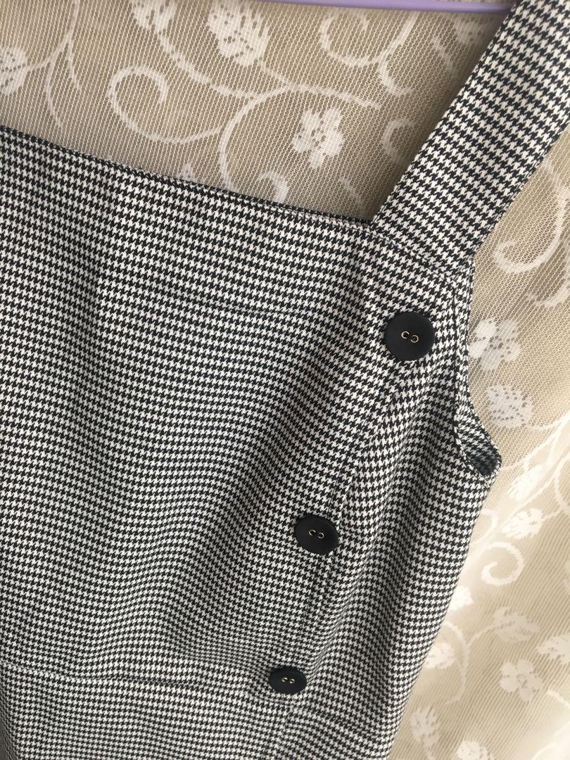 千鳥格紋洋裝