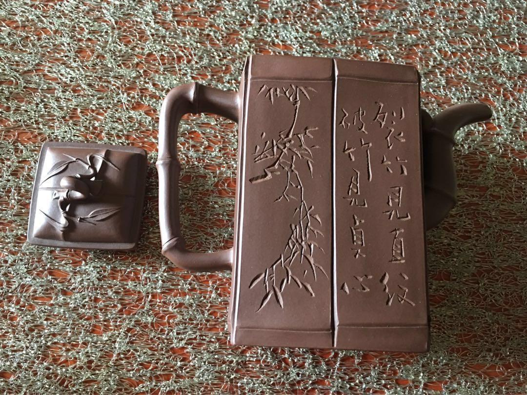 宜興紫砂壺 》早期個人收藏》未使用品