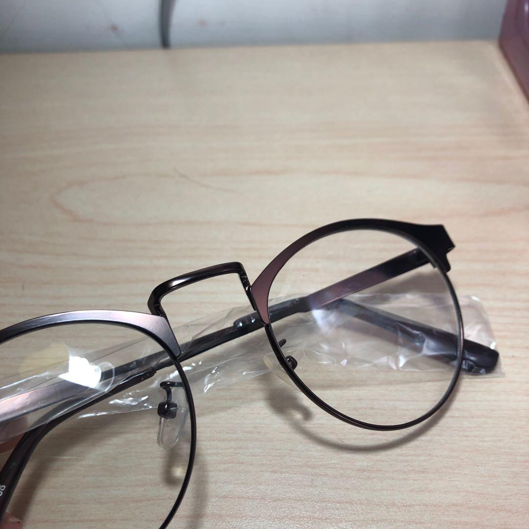 眼鏡 透明眼鏡 文青眼鏡