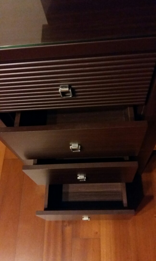 化妝台 附收納椅 鏡臺 化妝櫃 收納 拉抽 化妝鏡 展示燈