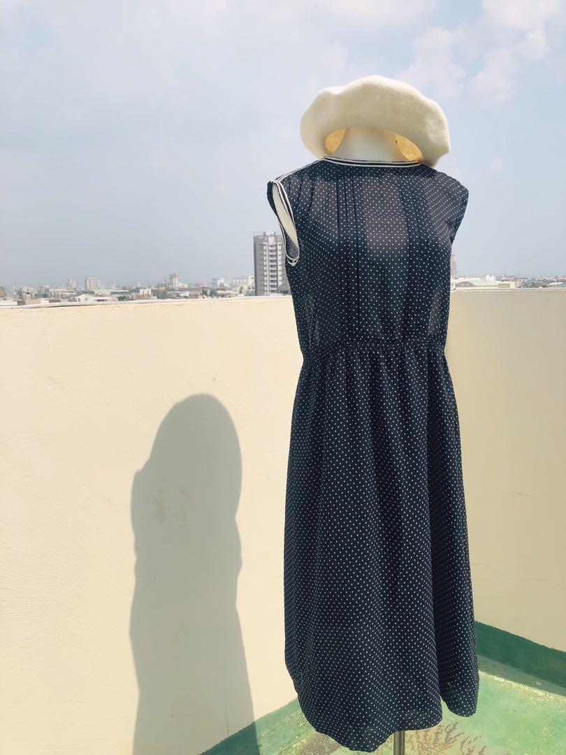 古著 洋裝 vintage 日本 復古 奧黛麗赫本