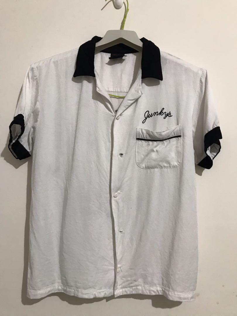日本品牌 Junky's Paradise 保齡球襯衫