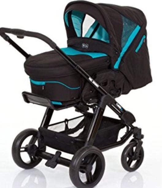ABC design turbo 4S 雙向嬰兒推車 雨遮 新生兒內墊 睡籃 太陽遮罩 全配