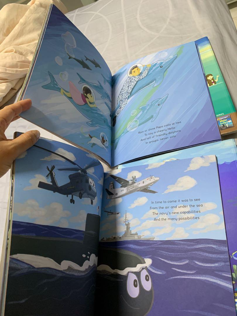 Ahoy, Navy! Papa goes to sea