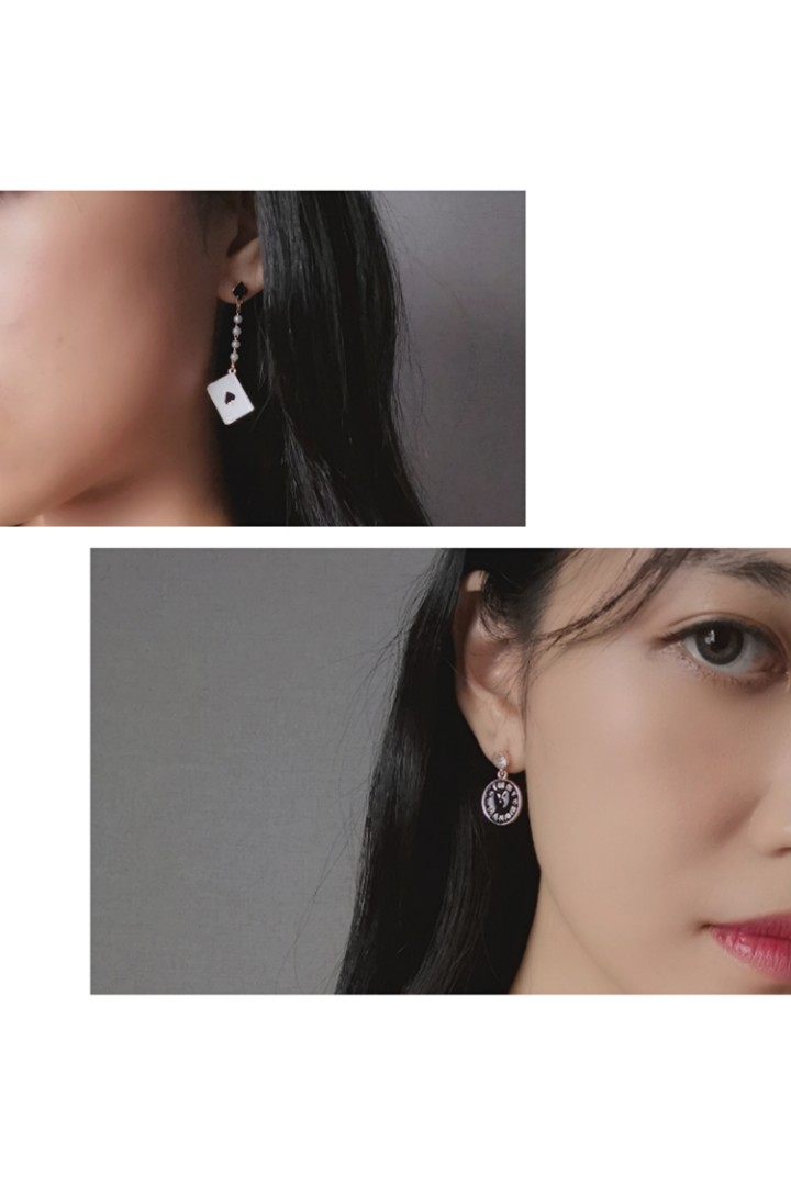 Alice in the Wonderland Earring