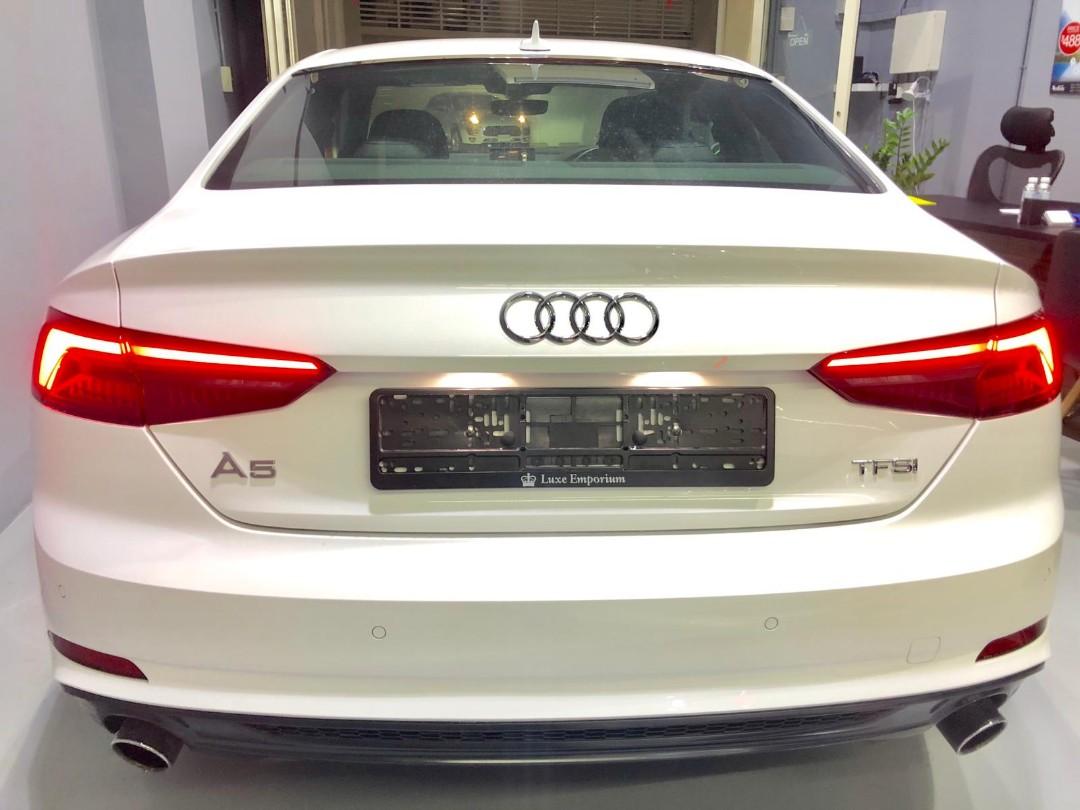 Audi A5 coupe 2.0a tfsi quattro s-line