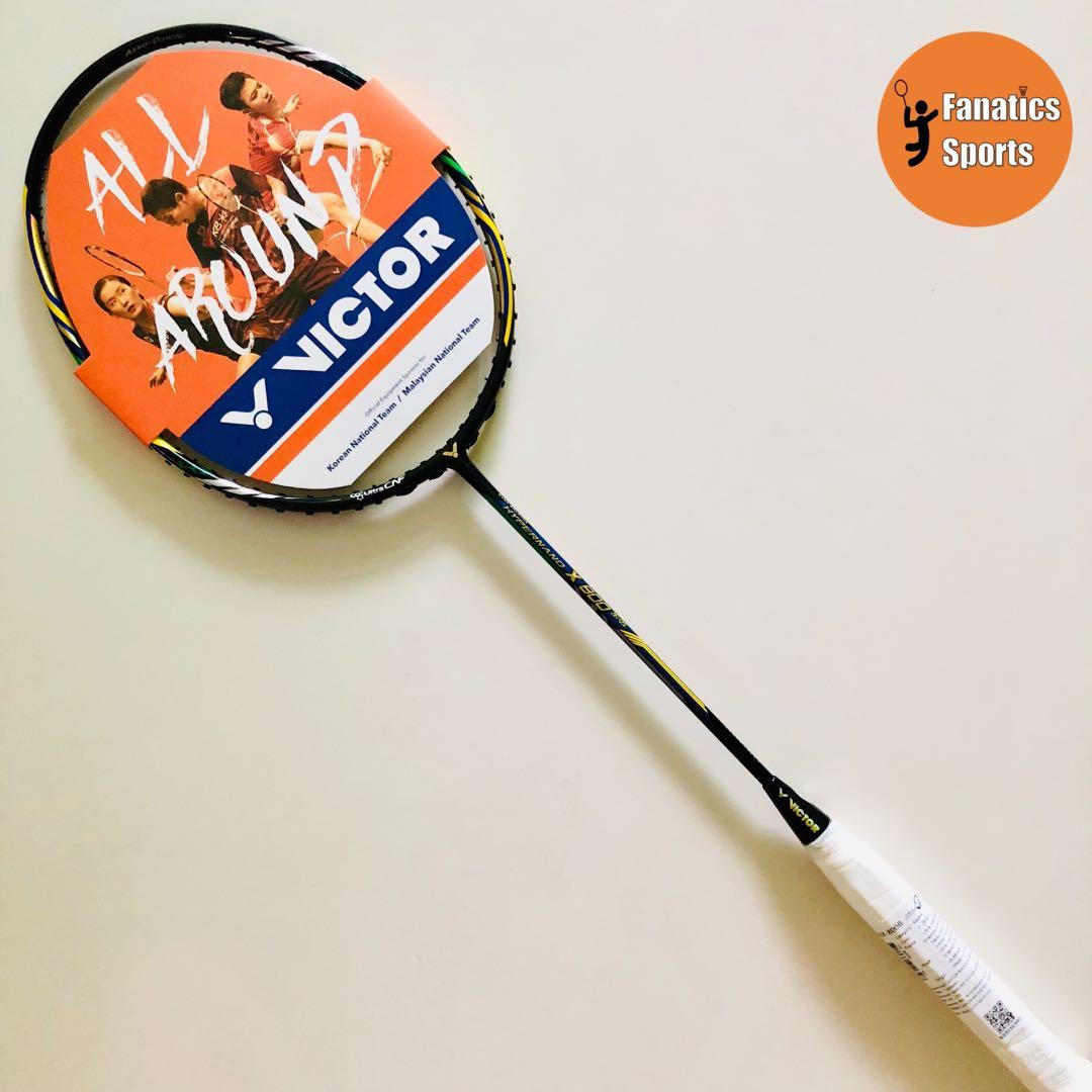 [CRAZY SALE] Brand New Victor Hypernano X800 Brazil (HX800B) Limited Edition  Badminton Racket