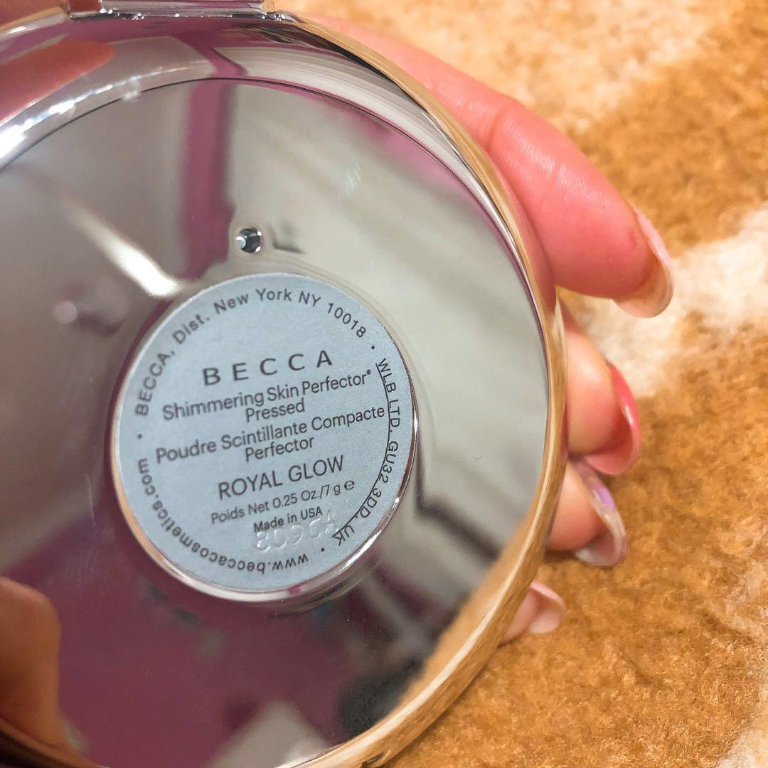 Becca Shimmering Skin Perfector Pressed in Royal Glow