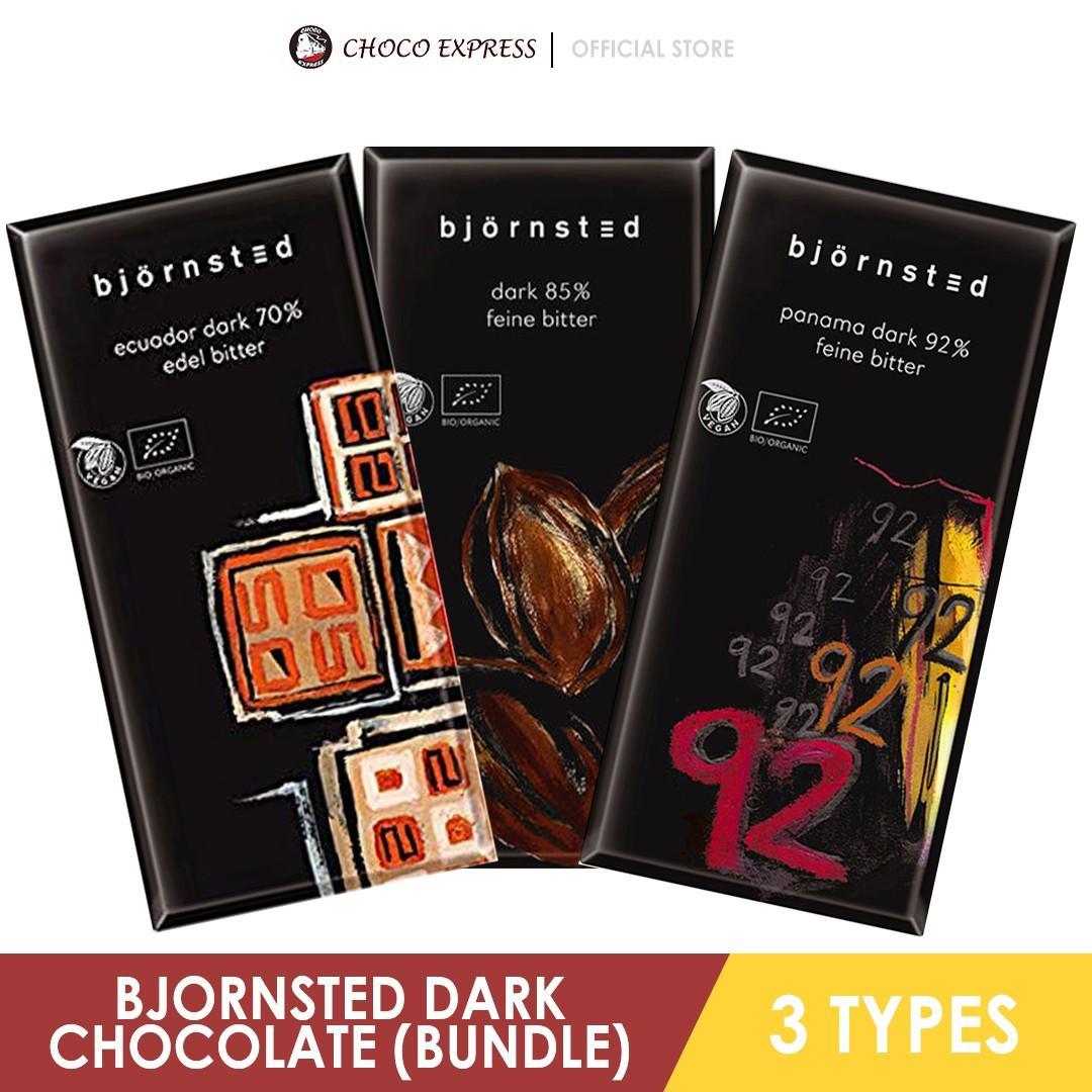 Bjornsted Germany Organic Dark Chocolate (Mixed Triple Pack) - Vegan