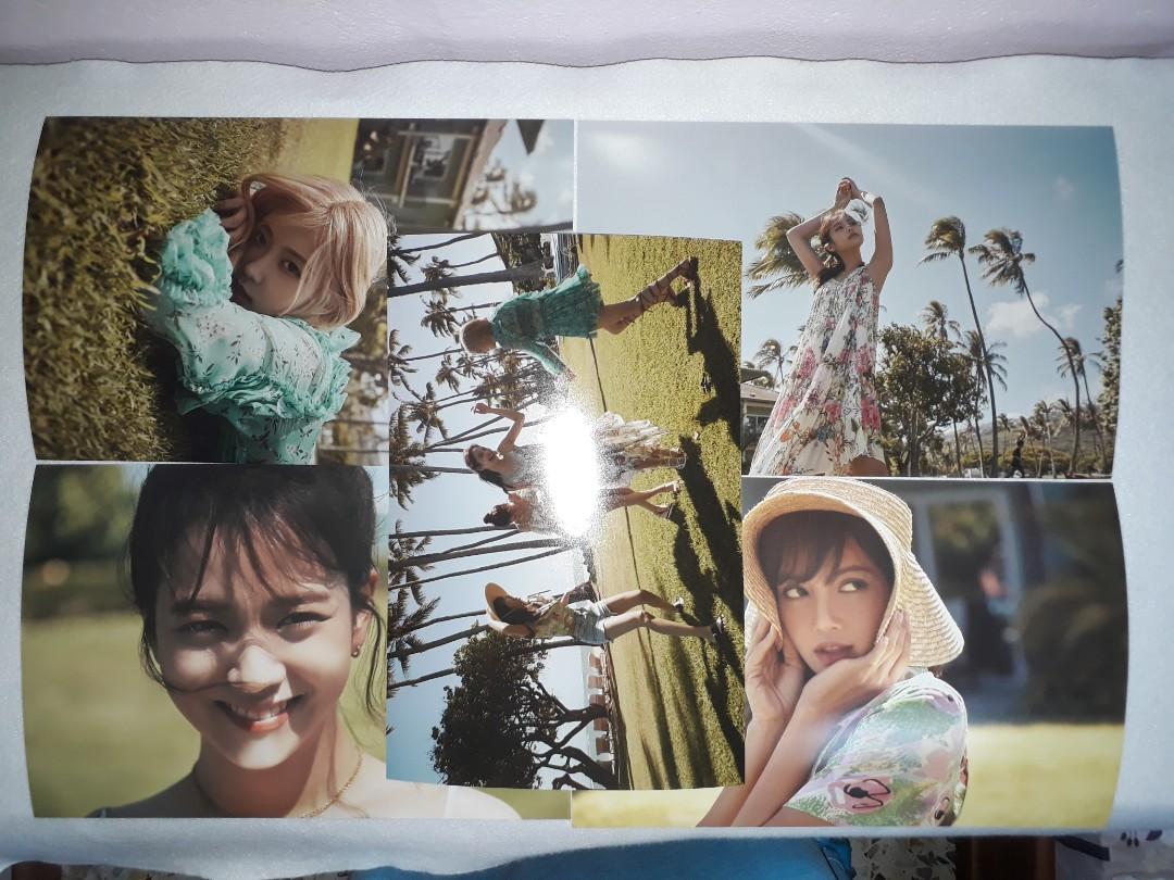 Blackpink Hawaii Photo Set Limited Edition