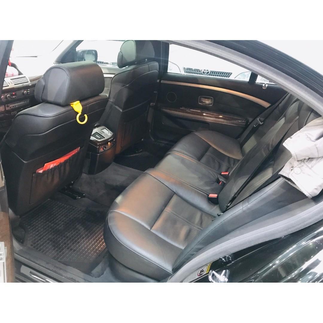 BMW750LI 4800CC 黑色,絕非權利車、事故車、泡水車、調錶車,漂亮車都在這裡