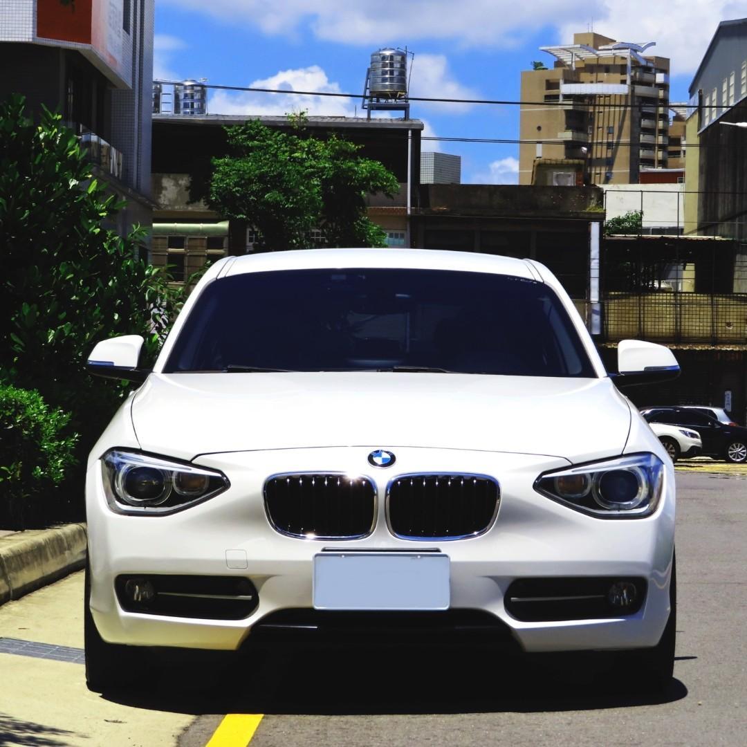 BMW 2013 116I 白 可全貸 免頭款 少跑 車況好