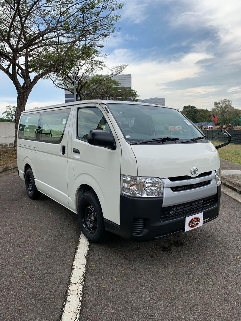 Brand new Hiace Auto 5 Doors For Rental