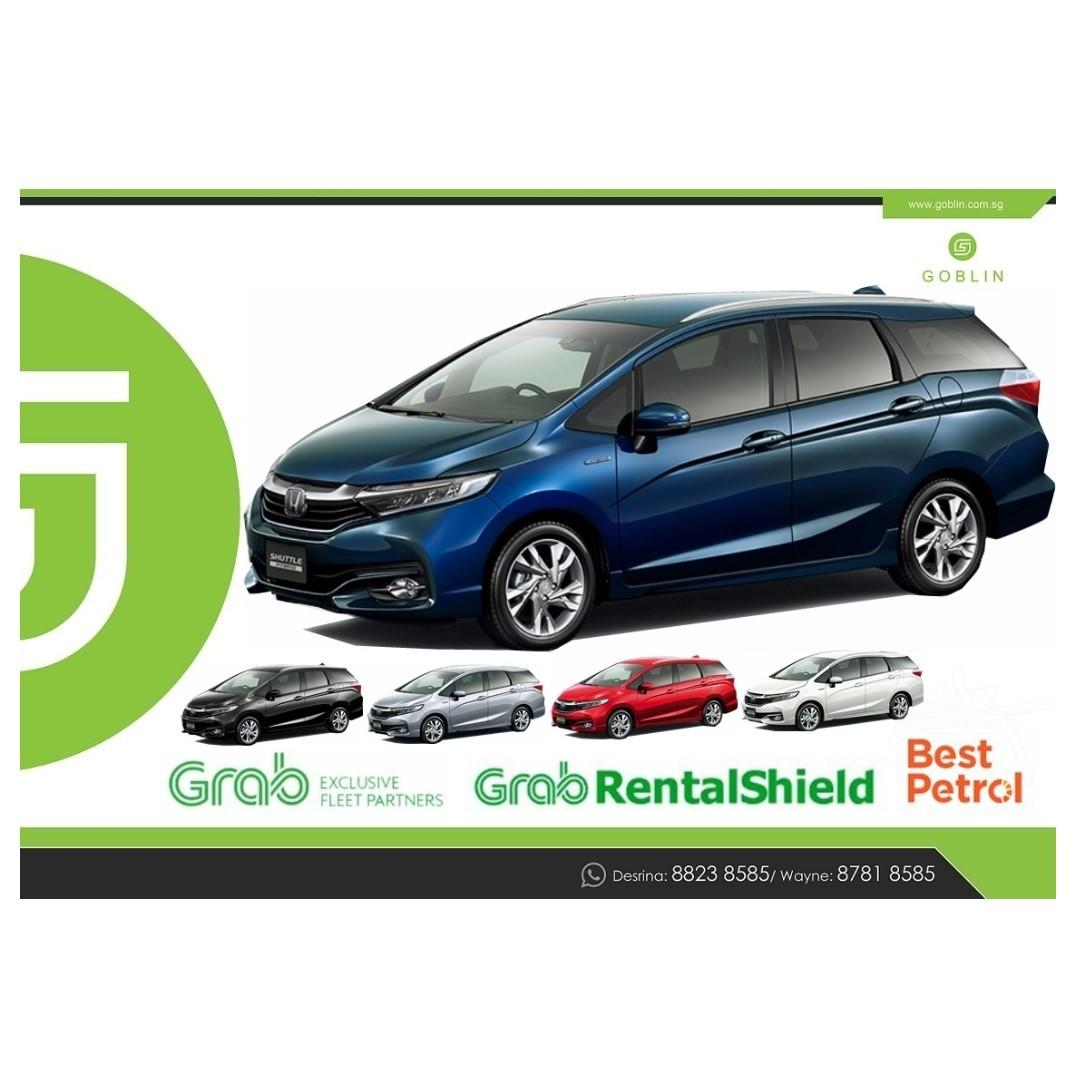 Brand New Toyota and Honda Hybrid with Grace Shuttle Prius Sienta Freed Noah Voxy