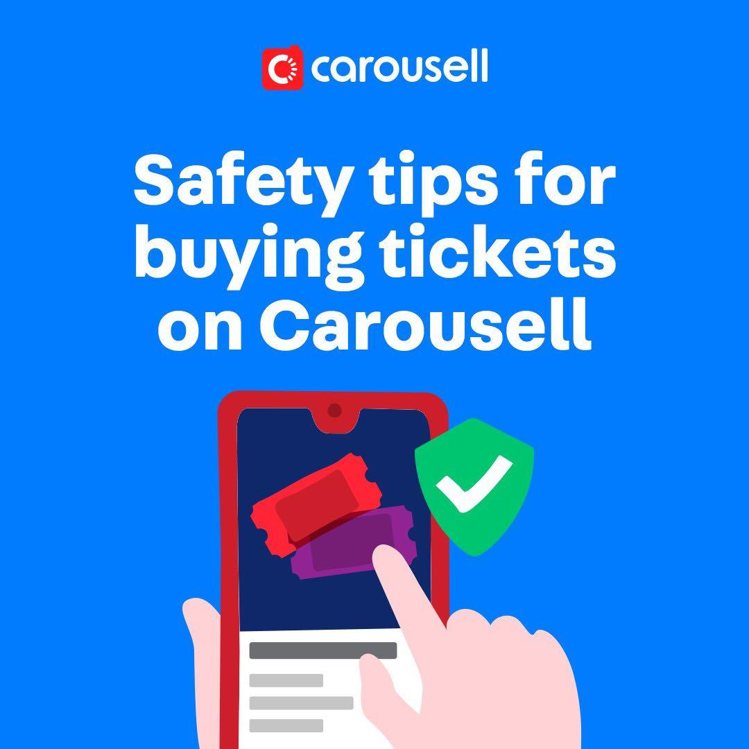 Buying tickets? Here are some tips!💡