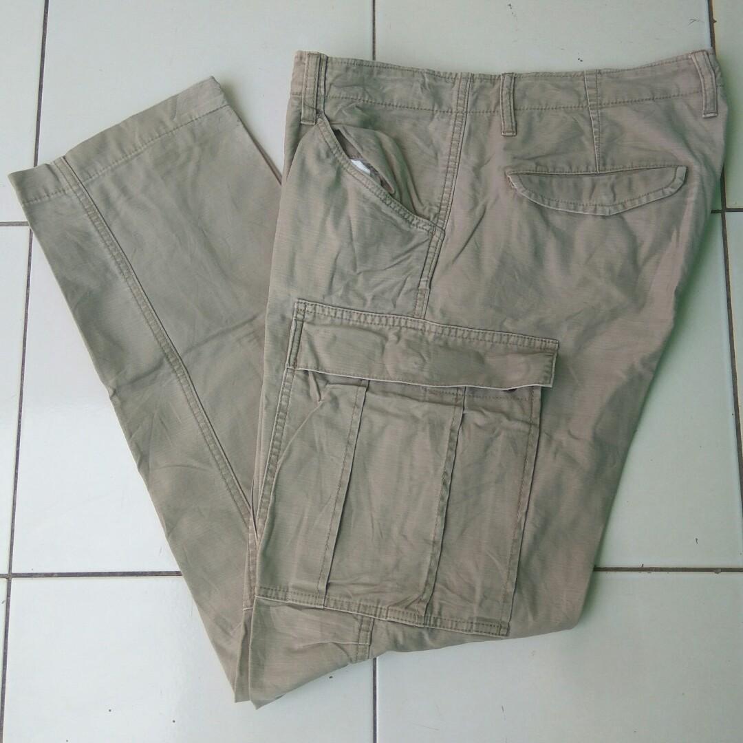 Cargo Back Number - Celana Cargo - Cargo Pants