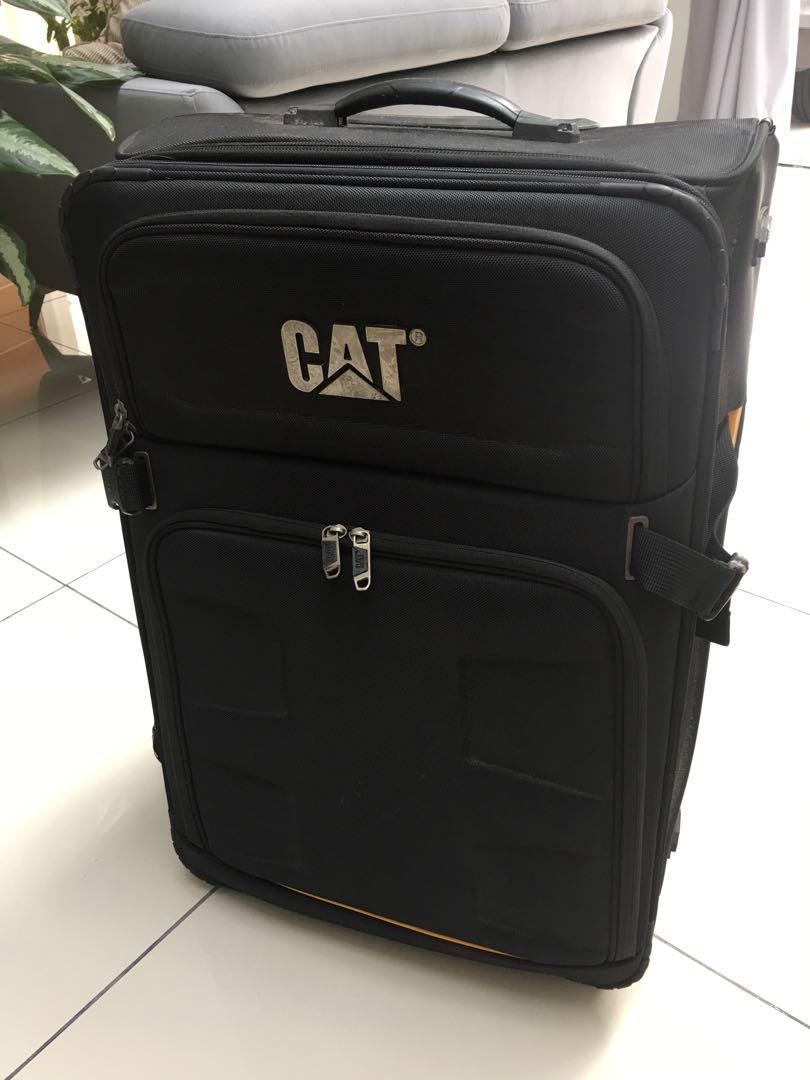 """CAT softcase 28"""" Luggage (Black)"""