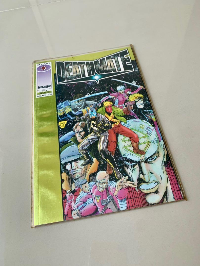 Deathmate valiant comics. New