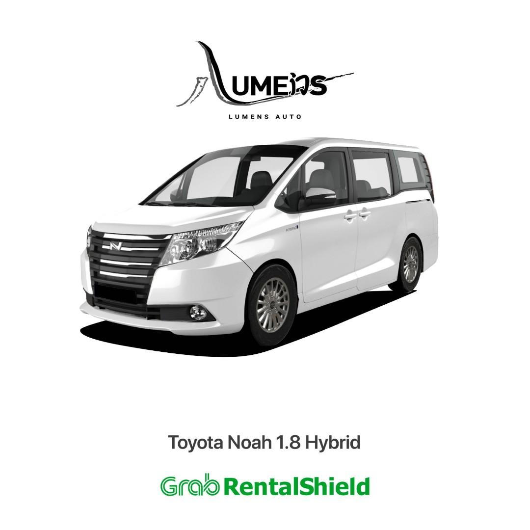 Earn More with Premium Car The Toyota Noah for PHV