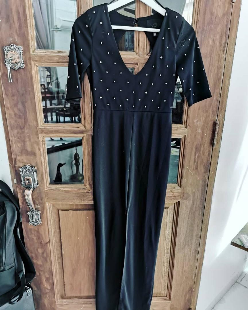 H&M Long Black Dress