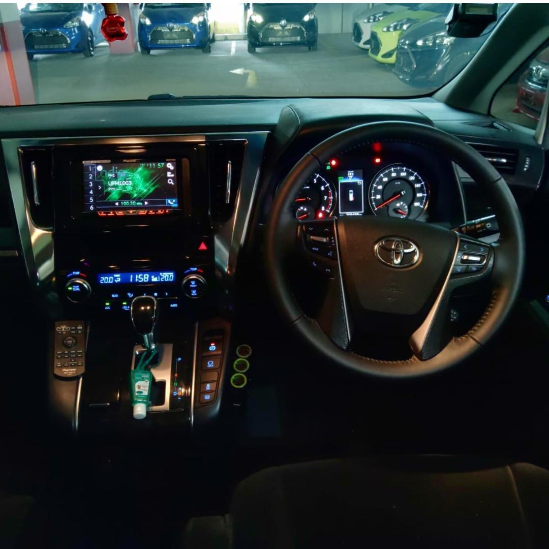 Limo Rental Car Rental Brand New Toyota Alphard or Velfire for Rent
