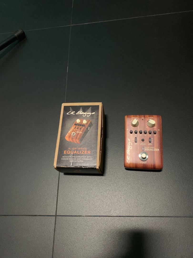 LR Baggs Align Series Equalizer Acoustic guitar Pedal