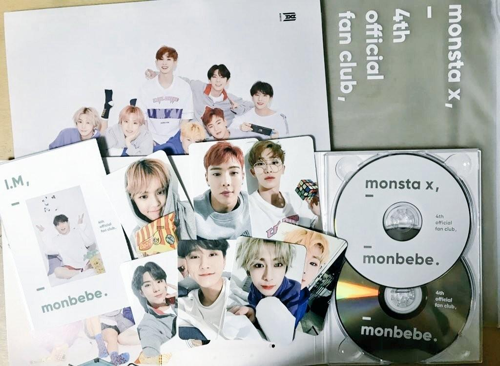 "MONSTA X 4th Gen. Fanclub Kit ""Monbebe"""