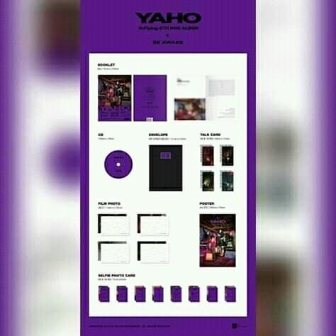 N.Flying - Mini Album Vol.6 [YAHO(夜好)] (Random Ver.)