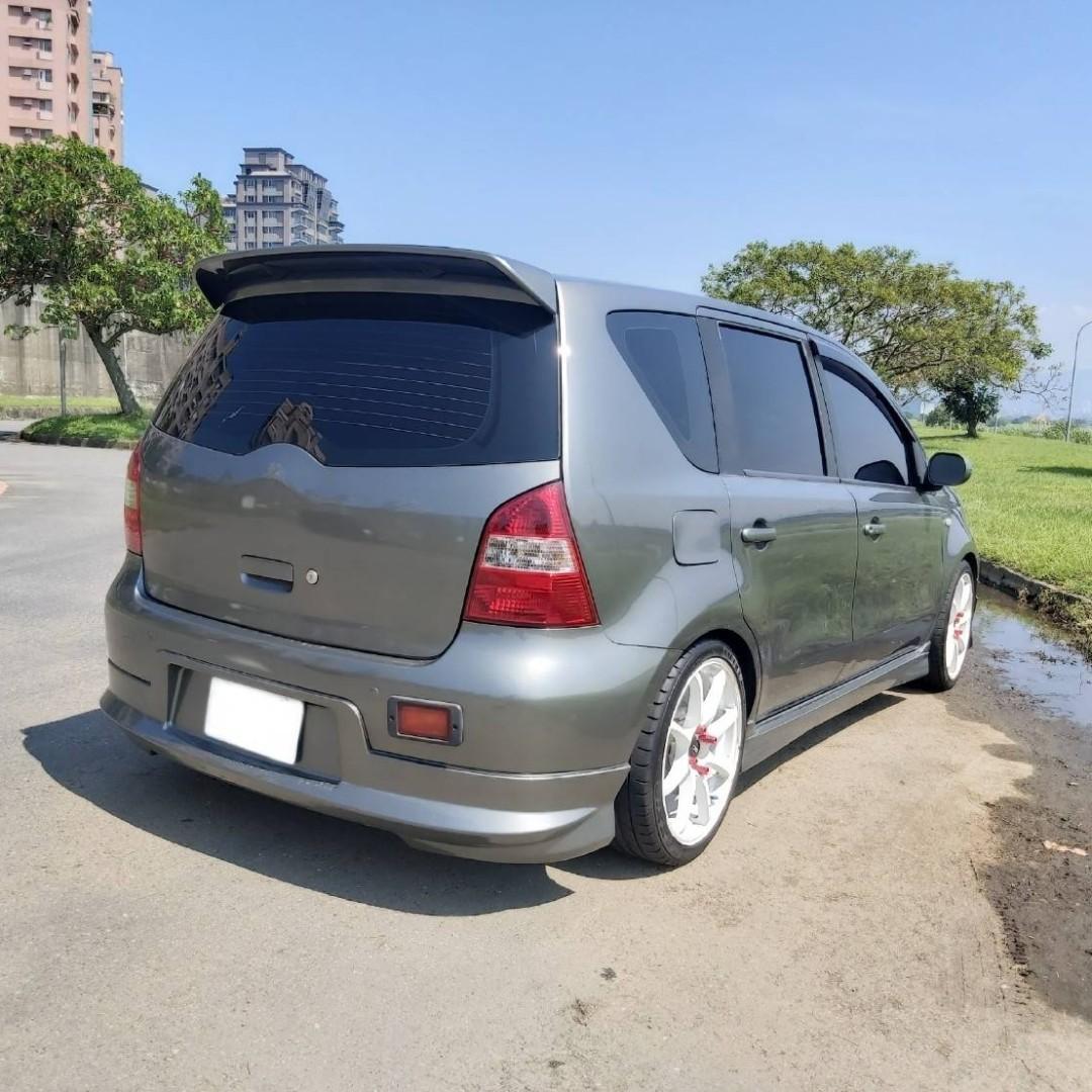 Nissan livina 2007 1.6 中古車 二手車 代步車 零頭款 全額貸 車況好 私下分期