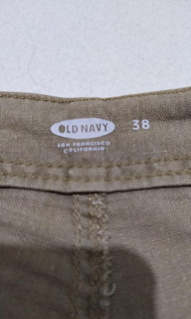 Old Navy short cargo pants linen