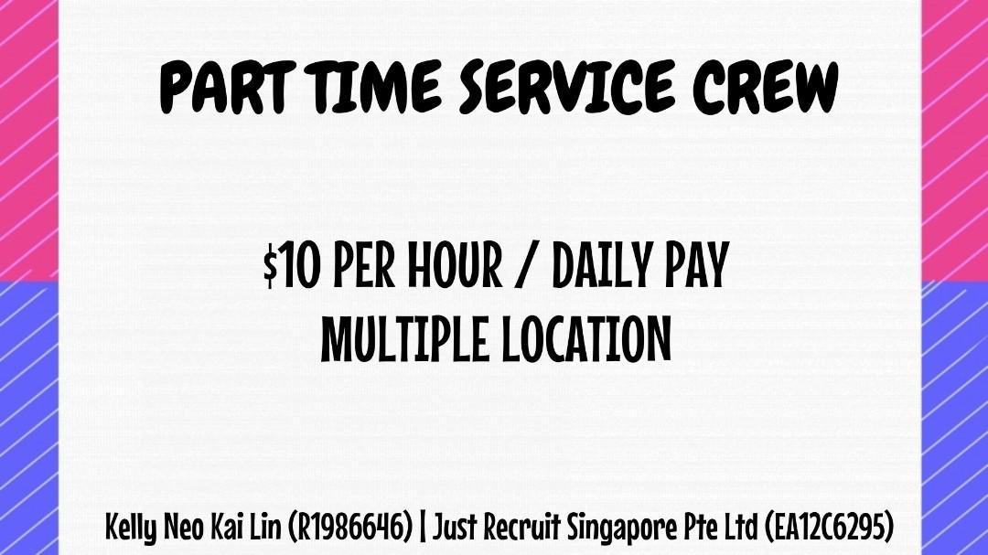 PART TIME SERVICE CREW