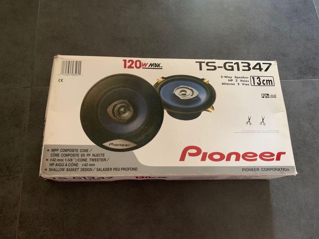 Pioneer 汽車喇叭 TS-G1347