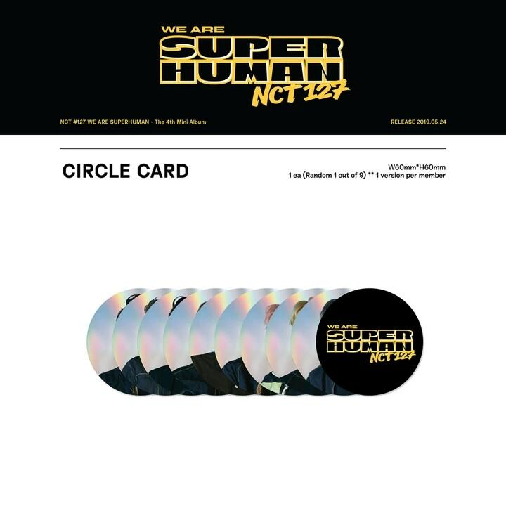 [PO] NCT 127 - NCT #127 WE ARE SUPERHUMAN (4th MINI ALBUM)