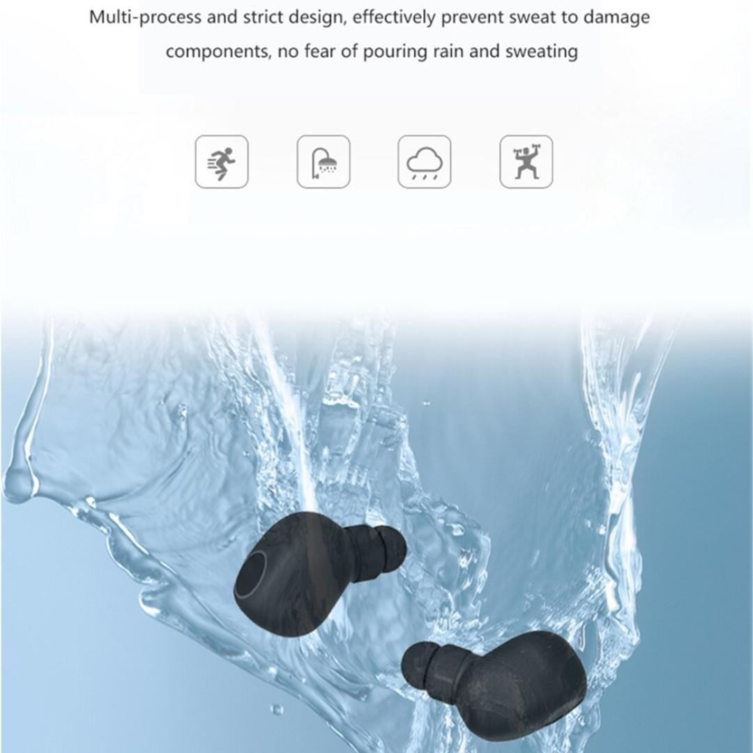 Q1 TWS Bluetooth 5.0 Double Stereo Wireless Earbuds