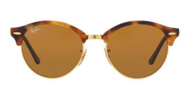 Rayban Clubmaster Round Sunglasses brand new tortoise frame RRP