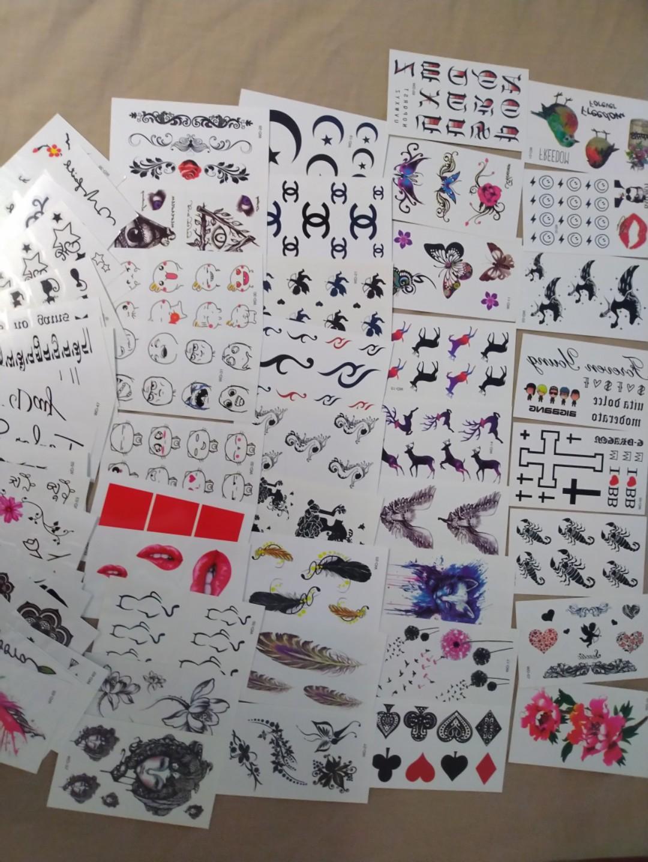 Ready Stock Temporary Tattoo Sticker Wholesale Price