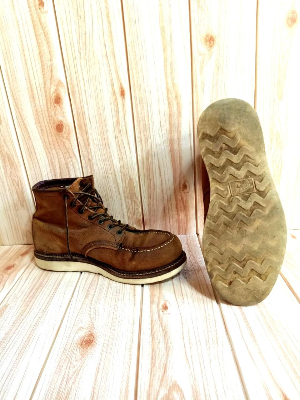 Sepatu Red Wing Boots Original Made in USA size 43 Genuine Leather kondisi Mantap