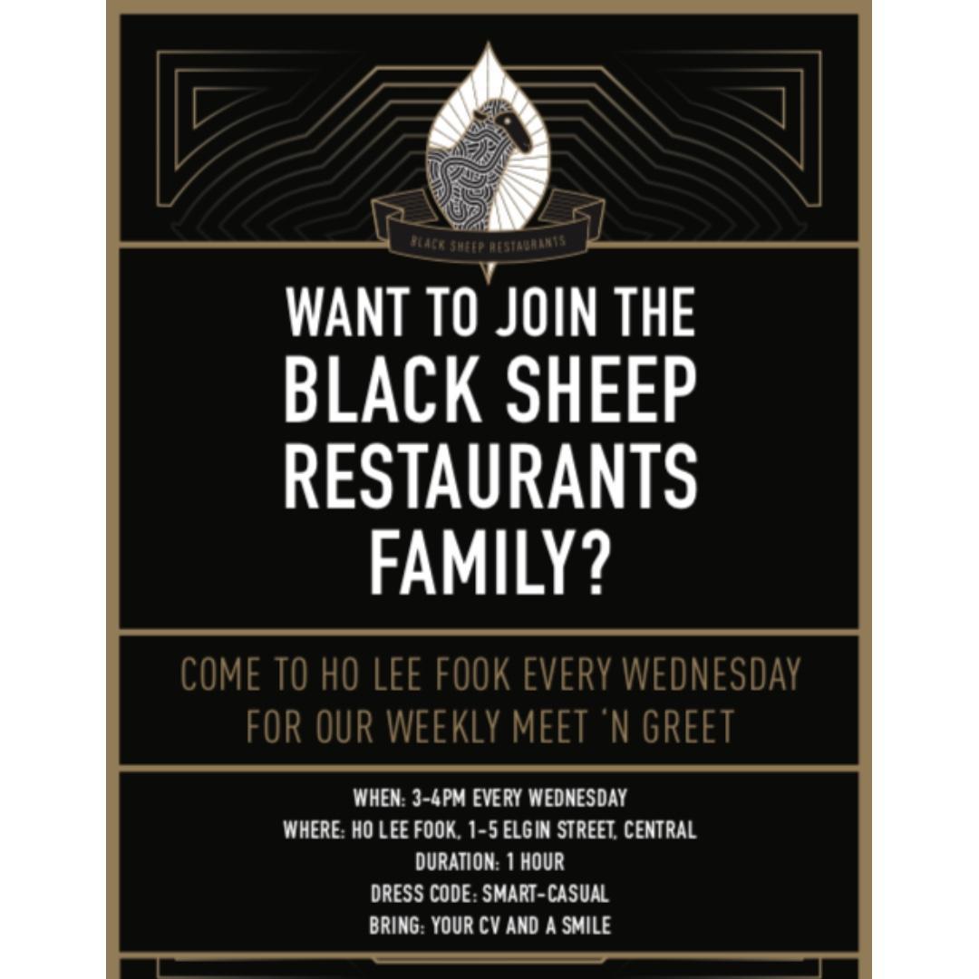Server, Bartender, Host - Black Sheep Restaurants