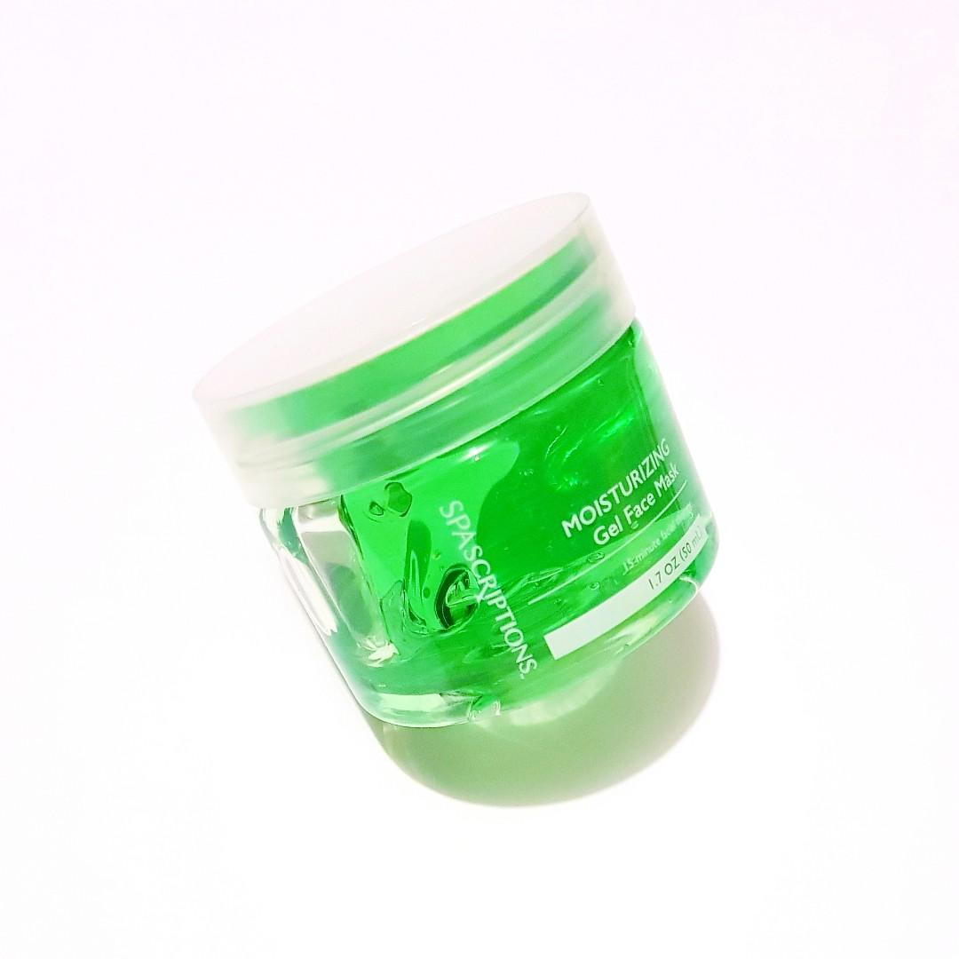 Spa Scription 15 Minute Facial Therapy Moisturizing 50 ml Gel Face Mask