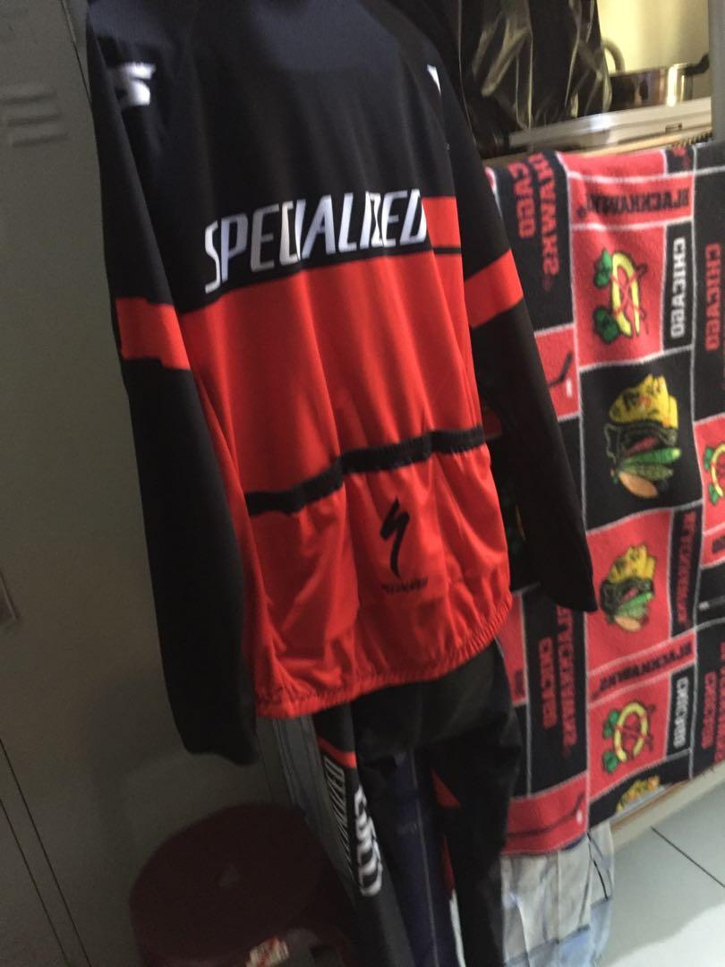 Specialized winter jersey top and bottom