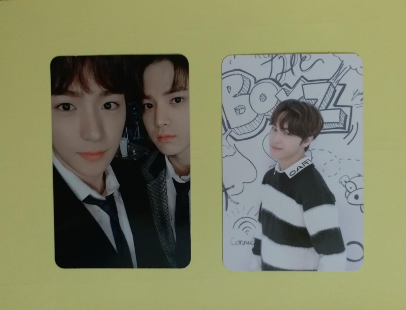 THE BOYZ the first photocard Kevin jacob Juhaknyeon Hwall Younghoon Hyunjae