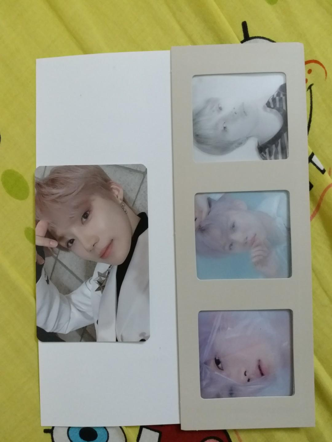 THE BOYZ the only no air New Chanhee photocard film strip