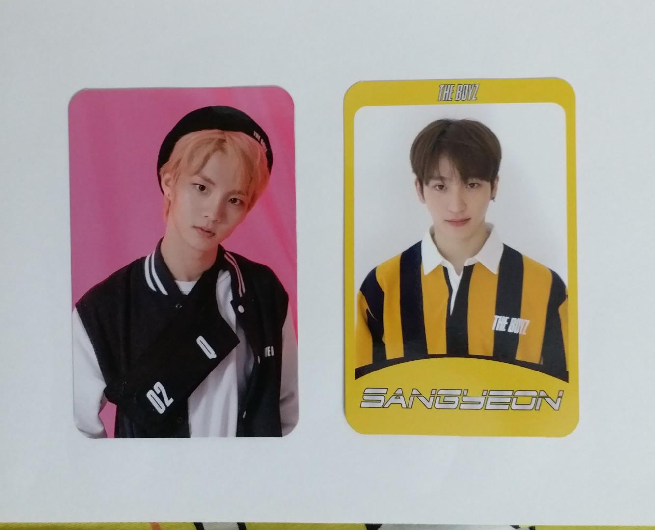 THE BOYZ the start giddy up photocard Q Juhaknyeon Sangyeon Hwall