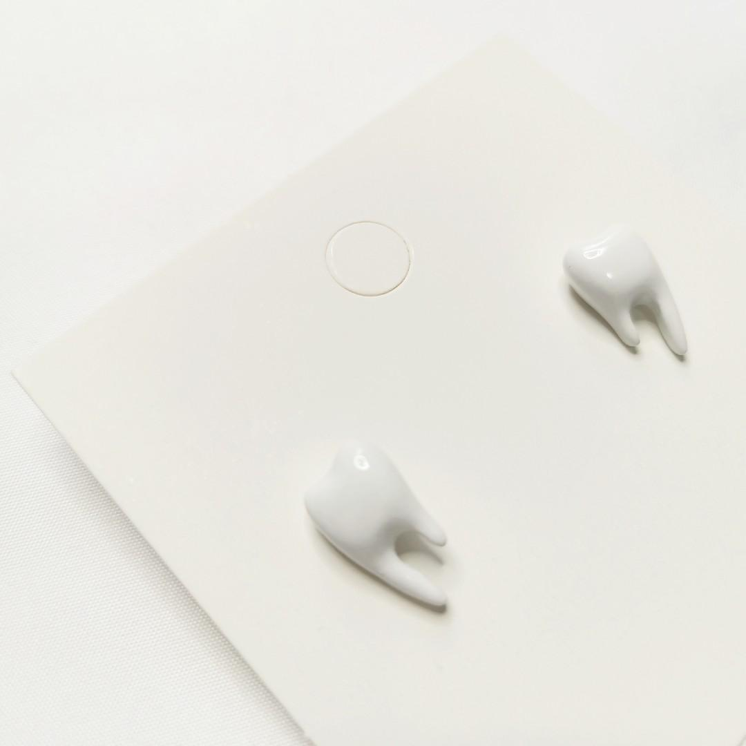 [Halloween Special] Tooth Fairy Earring