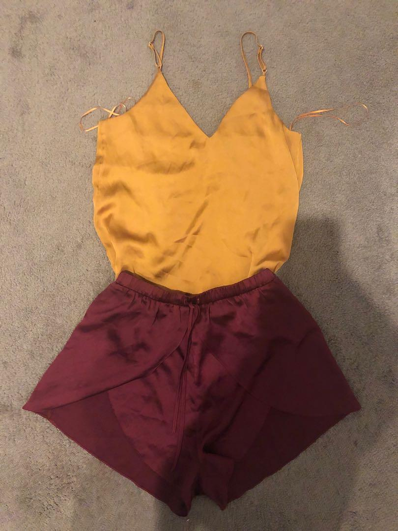 Top and Skorts Set