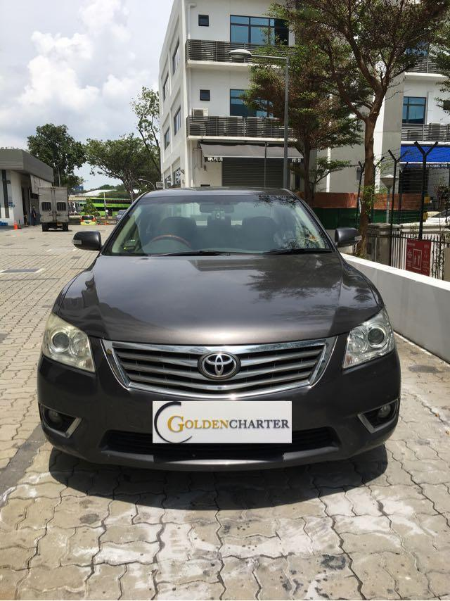Toyota cars for rent! Fuel savings with Low rental when u drive with PHV!