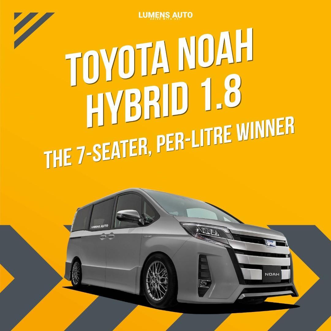 Toyota Noah the Perfect Premium Car Car Rental